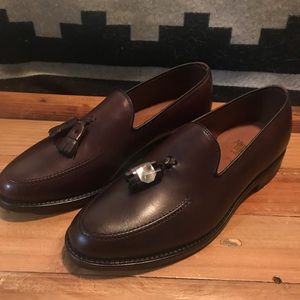 Allen Edmonds Franklin Tassel Loafer in Merlot